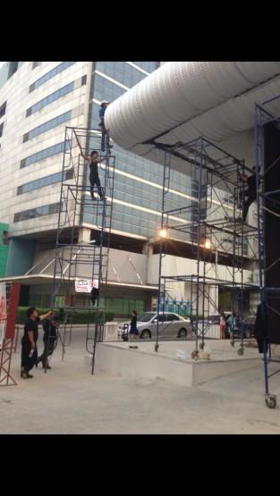 ตัวอย่างผลงาน หลังคาโค้งแคปซูล 04